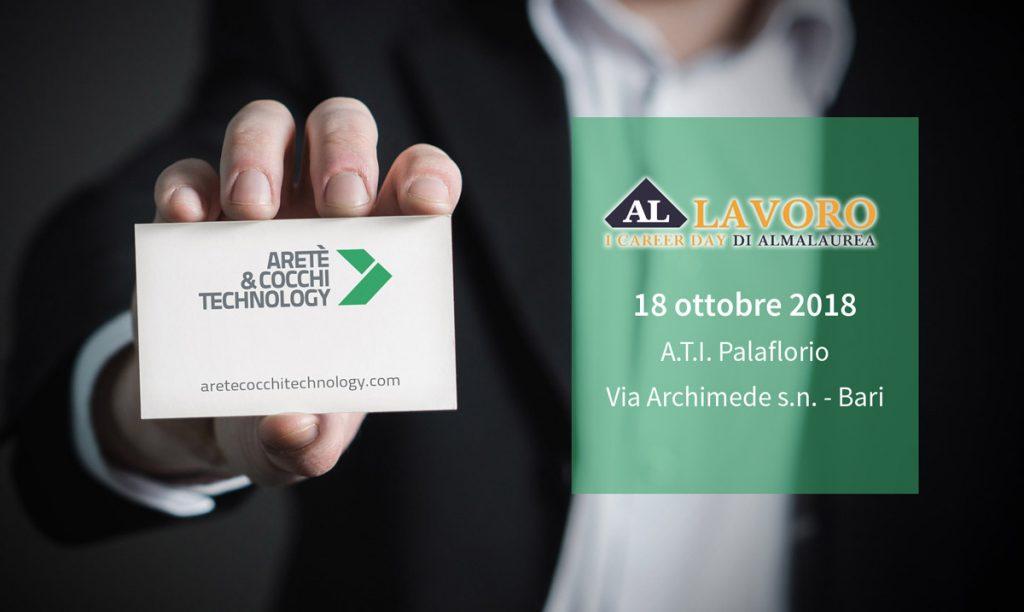 A CT at AlmaLaurea s Career Day in Bari on October 18 – Aretè ... 6af39a805673